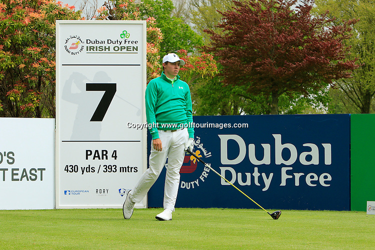 Matthew Fitzpatrick (ENG)  during round one of the 2016 Dubai Duty Free Irish Open hosted by The Rory Foundation and played at The K-Club, Straffan, Ireland. Picture Stuart Adams, www.golftourimages.com: 19/05/2016