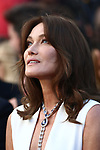 Cannes Film Festival 2018 - 71st edition - Day 6 - May 13 in Cannes, on May 13, 2018;  French-Italian model and musician Carla Bruni © Pierre Teyssot