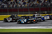NASCAR Camping World Truck Series<br /> North Carolina Education Lottery 200<br /> Charlotte Motor Speedway, Concord, NC USA<br /> Friday 19 May 2017<br /> Kyle Busch, Cessna Toyota Tundra and Christopher Bell, SiriusXM Toyota Tundra<br /> World Copyright: Rusty Jarrett<br /> LAT Images<br /> ref: Digital Image 17CLT1rj_4110