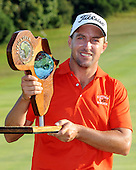 EAST LONDON, EASTERN CAPE, SOUTH AFRICA FEBRUARY 17 - Darren Fichardt of South Africa winner of the Africa Open Open Golf Challenge at the East London  Golf course. ..Photo: Catherine Kotze/SASPA