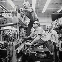 Loom fixers, narrow-fabric, Arbeka Webbing, Pawtucket, RI