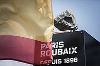 T1 of the most iconic trophys in cycling<br /> <br /> eam Presentation Saturday<br /> <br /> 117th Paris-Roubaix (1.UWT)<br /> 1 Day Race: Compiègne-Roubaix (257km)<br /> <br /> ©kramon