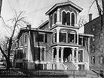 The Lane Homestead in Waterbury, ca. 1900.