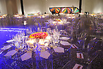 Lucite chairs and tables at the Museum of Fine Arts Houston 's 2010 Grand Gala Ball  Friday Oct. 01, 2010. (Dave Rossman/For the Chronicle)