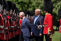 President Donald J. Trump joined by the Prince Charles inspects the Guard of Honor during the official welcome ceremony at Buckingham Palace Monday, June 3, 2019 in London. (Official White House Photo by Shealah Craighead)