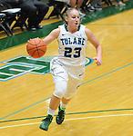 Tulane defeats SLU, 80-52, in women's basketball action.