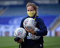 Practice balls being collected before being disinfected during Portsmouth vs Oxford United, Sky Bet EFL League 1 Play-Off Semi-Final Football at Fratton Park on 3rd July 2020