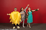 Third grade play costumes children posing, school for musically gifted children arts enrichment