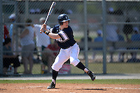 UW-Stout Blue Devils Jack Schneider (10) during the second game of a doubleheader against the Edgewood Eagles on March 16, 2015 at Lee County Player Development Complex in Fort Myers, Florida.  UW-Stout defeated Edgewood 8-2.  (Mike Janes/Four Seam Images)