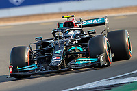 16th July 2021; Silverstone Circuit, Silverstone, Northamptonshire, England; Formula One British Grand Prix,  and Qualifying; Mercedes AMG Petronas F1 Team driver Valtteri Bottas in his Mercedes F1 W12 Mercedes AMG F1 M12