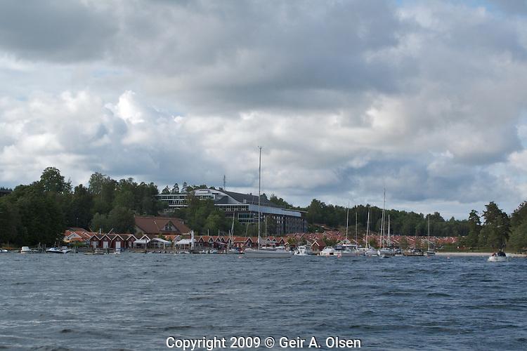 Tønsberg by boat