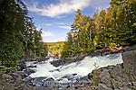 Oxtongue River Ragged Falls, Ontario, Canada