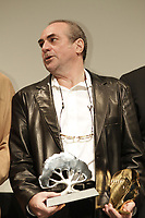 SEptember 3,, 2012 - Montreal (Qc) CANADA -  <br />  Montreal World Film Festival closing ceremonies -  Claude Gagnon, winner OPENNESS TO THE WORLD AWARD and winner Cinematheque Quebecoise Public Award for the most popular Canadian film : KARAKARA