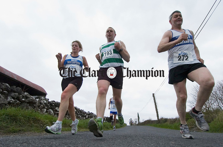 Participants put their best foot forward at the Sonny Murphy memorial roadrace in Kilnaboy. Photograph by John Kelly.