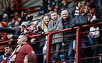 26.01.2020 Hearts v Rangers: Hearts fans…