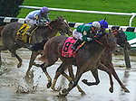 JUNE 04, 2021 : Estilo Talentoso with Javier Catellano aboard, wins the Gr.3  Bed O' Roses Stakes, for fillies nd mares at 7 furlongs, at Belmont Park, Elmont, NY. Dan Heary-Eclipse Sportswire-CSM
