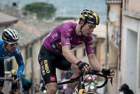 Wout van Aert (BEL/Jumbo-Visma)<br /> <br /> Stage 5 from Castellalto to Castelfidardo (205km)<br /> <br /> 56th Tirreno-Adriatico 2021 (2.UWT) <br /> <br /> ©kramon
