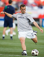 USA's Brad Davis. The United States and Costa Rica played to a scoreless tie in phase one CONCACAF Gold Cup action in Group B at Gillette Stadium, Foxbourgh, MA, on July 12, 2005. Both teams have already qualified for the quarterfinals on July 16th.
