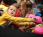 Fans enjoy the 2014 Australian Open