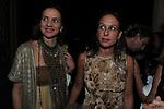"""ELENA ODESCALCHI CON AZZURRA CALTAGIRONE<br /> PRESENTAZIONE SIGARO TOSCANO """"OPERA """" MST A VILLA AURELIA  ROMA 2014"""