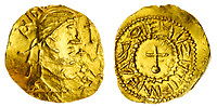BNPS.co.uk (01202) 558833. <br /> Pic: Spink&Son/BNPS<br /> <br /> Pictured: This Anglo-Saxon Gold Shilling sold for £40,800. <br /> <br /> A finance director's remarkable collection of historic Anglo-Saxon coins has sold for a staggering £856,000.<br /> <br /> Tony Abramson, president of the Yorkshire Numismatic Society, started collecting aged four in the 1950s.<br /> <br /> His passion developed during his teenage years and he went to great lengths to bolster his collection in the decades that followed until it reached 1,200 coins.