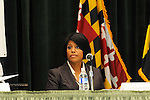 Baltimore Mayoral Candidates Forum on Disability Issues.  Photography by Professional Image Photography. Mayor Stephanie Rawlings-Blake -