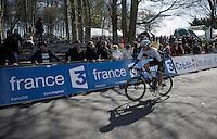 (later winner) Martin Mortensen (DNK/ONE) rolling to the start<br /> <br /> 33th Tro Bro Léon 2016