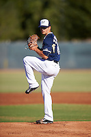 Milwaukee Brewers pitcher Taylor Williams (68) during an Instructional League game against the Cincinnati Reds on October 14, 2016 at the Maryvale Baseball Park Training Complex in Maryvale, Arizona.  (Mike Janes/Four Seam Images)
