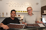 Co-Owners John Kelson and Kelly Green at John Kelly Chocolates shop and factory in Hollywood, Los Angeles, CA