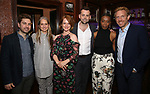 Harry Potter and the Cursed Child: designers Brett J. Banakis and Christine Jones, with company members Poppy Miller, Alex Price, Noma Dumezweni, and Paul Thornley attend The New York Drama Critics' Circle Awards at Feinstein's/54 Below on May 10, 2018 in New York City.