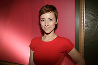 May , 2013 File Photo -  Karine Vanasse<br /> <br /> attend V Television programmation launch