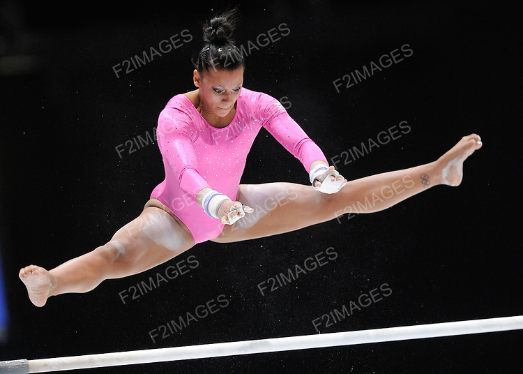 World Championship Gymnastics Antwerp Belgium. Individual Apparatus Finals 5.10.13. Rebecca Downie Great Britain