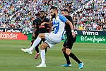 CD Leganes's Dimitrios Siovas during La Liga match between CD Leganes and Atletico de Madrid at Butarque Stadium in Madrid, Spain. August 25, 2019. (ALTERPHOTOS/A. Perez Meca)
