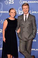 LONDON, UK. October 15, 2019: Jayne Torvill & Christopher Dean at the National Lottery Awards 2019, London.<br /> Picture: Steve Vas/Featureflash