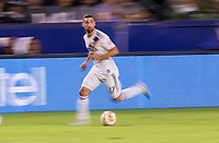 CARSON, CA - SEPTEMBER 21: Sebastian Lletget #17 of the Los Angeles Galaxy moving with the ball during a game between Montreal Impact and Los Angeles Galaxy at Dignity Health Sports Park on September 21, 2019 in Carson, California.