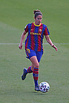Liga IBERDROLA 2020-2021. Jornada: 18.<br /> FC Barcelona vs R. Madrid: 4-1.<br /> Marta Torrejon.