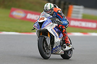 Peter Hickman of the Smiths Racing BMW team (No. 60) on his way to claiming 4th position on the grid during qualifying at the 2017 BSB Round 6 - Brands Hatch GP Circuit at Brands Hatch, Longfield, England on Saturday 22 July 2017. Photo by David Horn/PRiME Media Images
