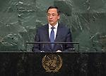 72 General Debate – 20 September <br /> <br /> Kazakhstan,Bakytzhan Sagintayev