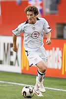 USA's John O'Brien. The United States and Costa Rica played to a scoreless tie in phase one CONCACAF Gold Cup action in Group B at Gillette Stadium, Foxbourgh, MA, on July 12, 2005. Both teams have already qualified for the quarterfinals on July 16th.