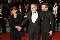JEAN-LOUIS TRINTIGNANT AND MATHIEU KASSOVITZ - RED CARPET OF THE FILM 'HAPPY END' AT THE 70TH FESTIVAL OF CANNES 2017