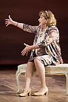 """Ana Marzoa during theater play of """"Una gata sobre un tejado de Cinc caliente"""" at Reina Victoria theater in Madrid, Spain. March 15, 2017. (ALTERPHOTOS/BorjaB.Hojas)"""
