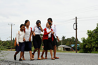Young students in Cambodia<br /> <br /> PHOTO :  Agence Quebec Presse<br /> <br /> <br /> <br /> <br /> <br /> PHOTO : Agence Quebec Presse