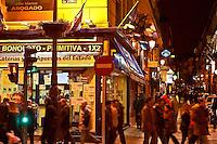 San Jeronimo street, Puerta del Sol, Madrid, Spain