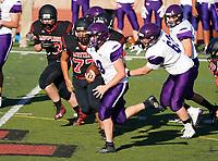 Amador Valley High School Freshman Football Vs Monte Vista Thursday  August 29, 2019. (Photo by Alan Greth/AGP Sports)