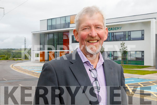 Pat McGarty standing outside the Kerry Sports Academy