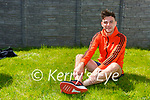 Singer/songwriter Cathal Flaherty who is in training for a half marathon he is running on May 13th in aid of the Irish Cancer Society