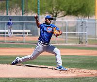 Richard Gallardo - Chicago Cubs 2019 extended spring training (Bill Mitchell)