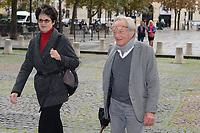 Philippe Tesson - Hommage à Gonzague Saint Bris en l'église Saint-Sulpice à Paris, France - 28/9/2017