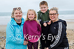 Enjoying the day in Banna on Saturday, l to r: Angela McCarthy, Faye, Callum and Karen Scanlon