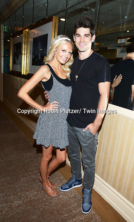 Melissa Ordway and husband Justin Gaston attends the Gifting Suitefor the Daytime Emmy Awards by Off The Wall Productions on June 15, 2013 at the Beverly Hills Hotel in Beverly Hills, California.
